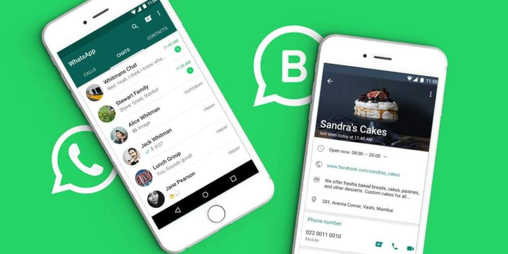 Регистрация в WhatsApp для бизнеса