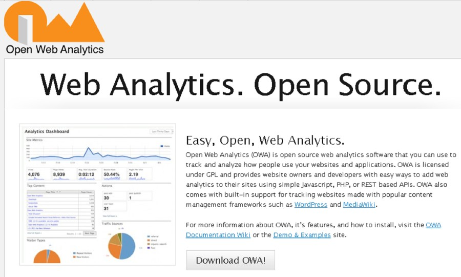 Open Web Analytics - UMI