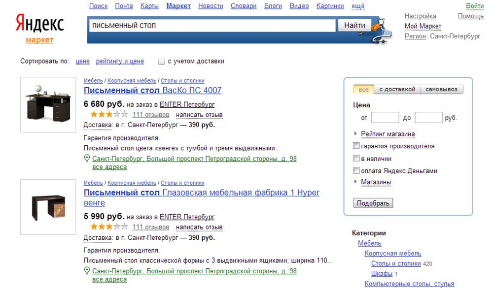 f1a95b62c00b1 Продаём в интернете. Как избежать конкуренции в Яндекс.Маркете